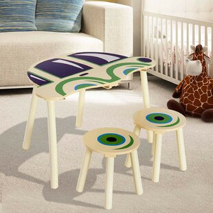 Melva Children's Table and Stool Set by Viv   Rae