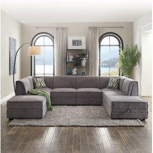 Bois Reversible Sleeper Sectional : extra large sectional couches - Sectionals, Sofas & Couches