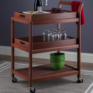 Adamsburg Entertainment Bar Cart by Al..