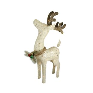 standing reindeer christmas decoration