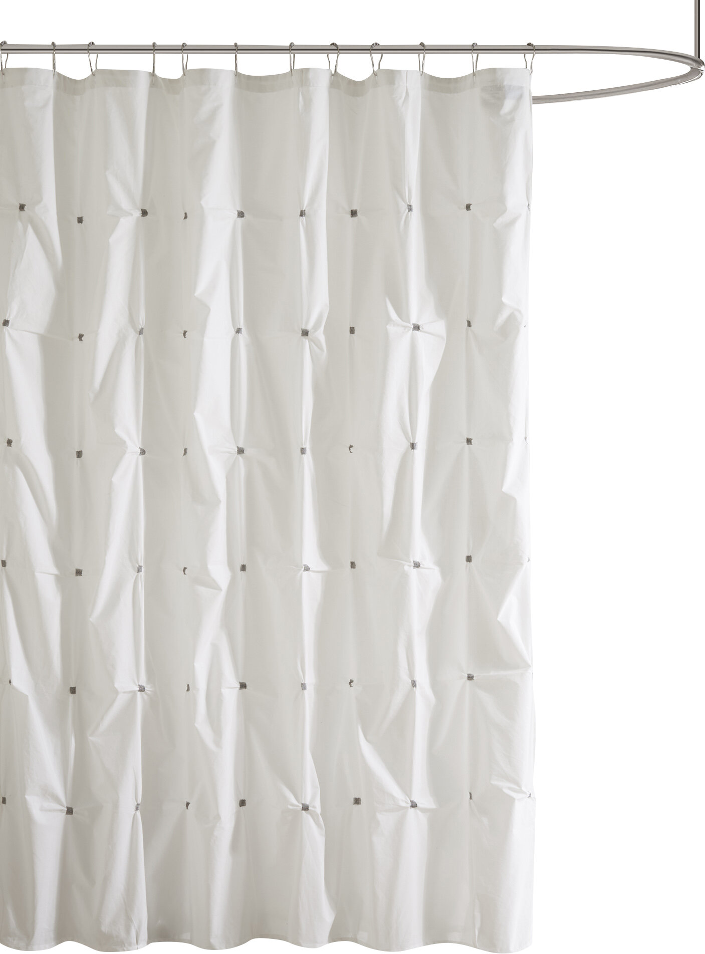 Ellesmere Port Cotton Shower Curtain Reviews