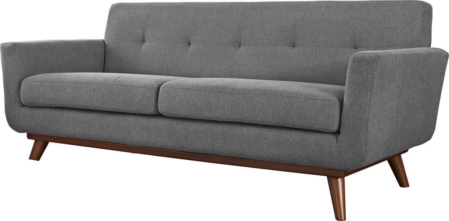 Langley Street Johnston Tufted Upholstered Sofa & Reviews | Wayfair