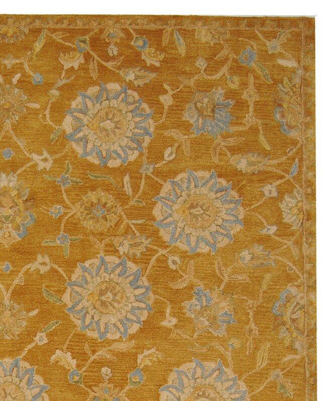 Safavieh Anatolia Gold Blue Area Rug Amp Reviews Wayfair