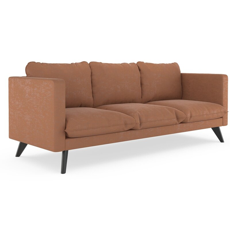 Cowgill Micro Suede Sofa