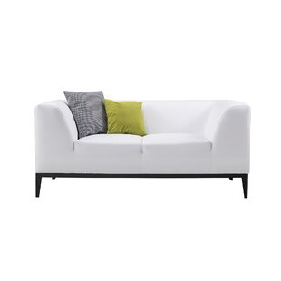 Modern Contemporary Modern White Loveseat Allmodern