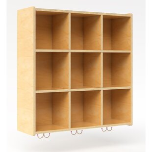 Hang On The Wall Storage 9 Compartment Cubby