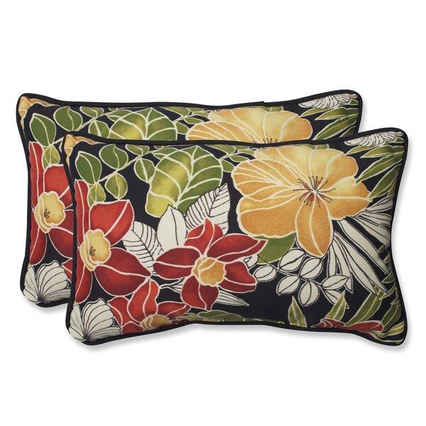 pillow perfect clemens noir lumbar pillow u0026 reviews wayfair