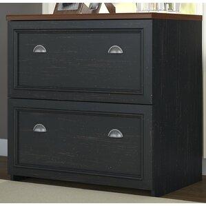oakridge 2drawer lateral wood filing cabinet