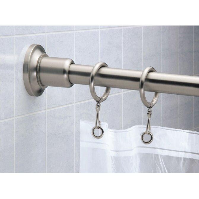 Gatco Marina 72 Straight Shower Curtain Rod Reviews Wayfair