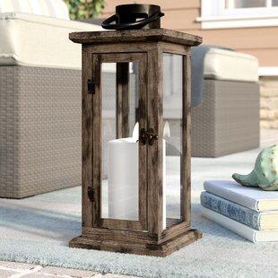 wood lantern - Patio Lanterns