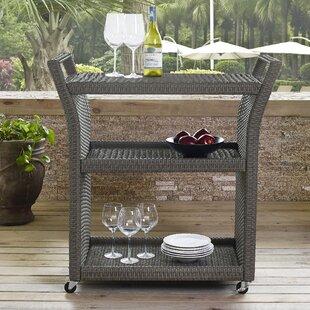 Brandy Outdoor Bar Serving Cart