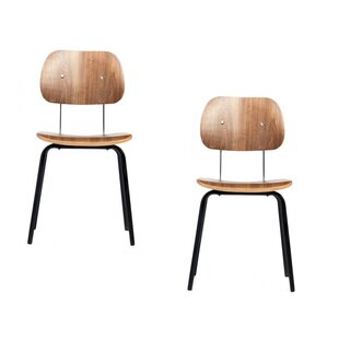 Farrah Solid Wood Dining Chair (Set of 2)