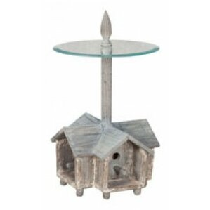 Landrienne Birdhouse End Table by August Grove