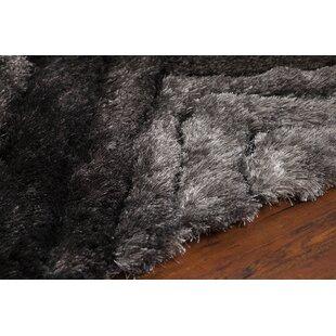 Helene Shag Charcoal Area Rug