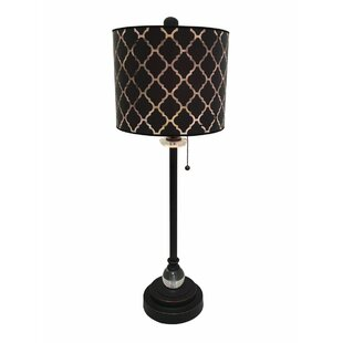Black Crystal Table Lamps You Ll Love Wayfair