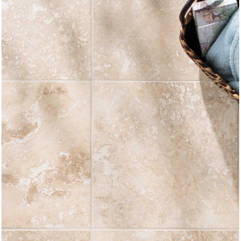 Msi Tuscany Classic 16 X 16 Travertine Field Tile In Honed And