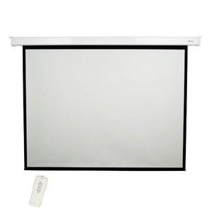 """Matte White 120"""" diagonal Electric Projection Screen"""