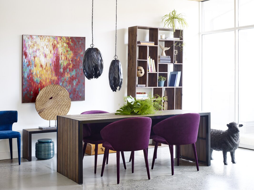 Dining Chairs In Living Room. Kartik Upholstered Dining Chair Everly Quinn  Reviews Wayfair