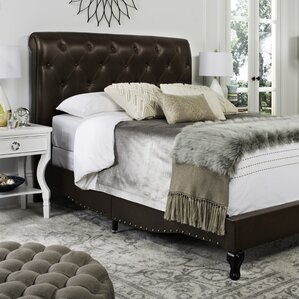 Allegany Upholstered Panel Bed by Darby Home Co