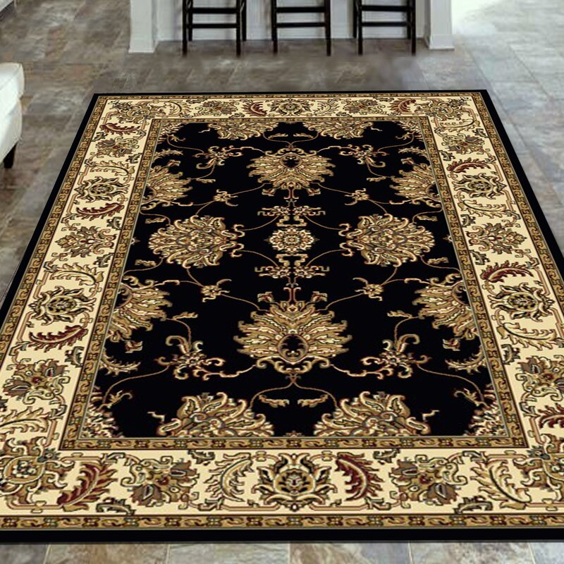 The Conestoga Trading Co Jordan Black Area Rug Amp Reviews