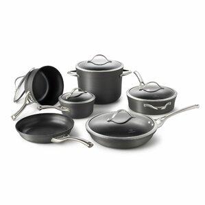 Calphalon 11-Piece Nonstick Aluminum Cookware Set
