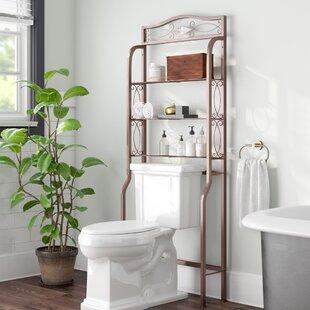 Zula E Saver 27 25 W X 66 5 H Over The Toilet Storage