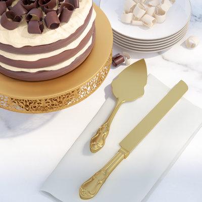Alcott Hill Fellers 2 Piece Cake / Pastry Server