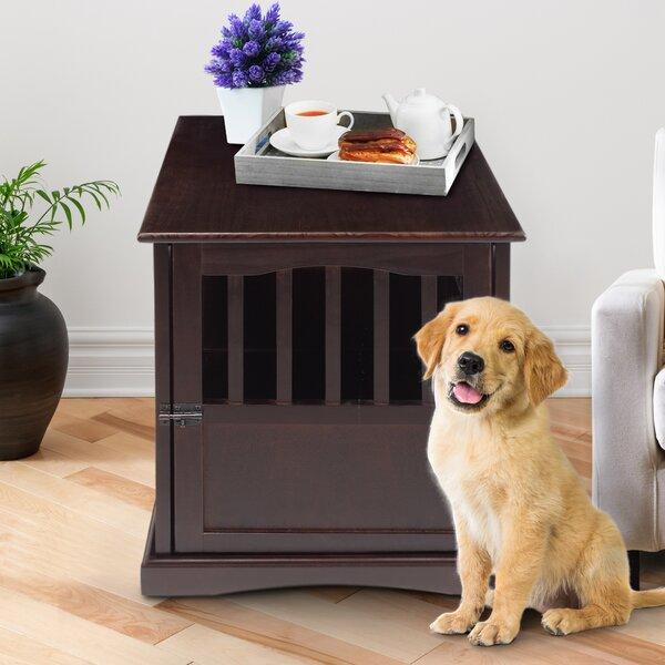 Casual Home Pet Crate End Table U0026 Reviews | Wayfair