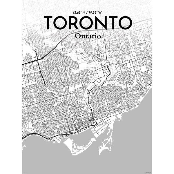 Toronto City Map | Wayfair.ca