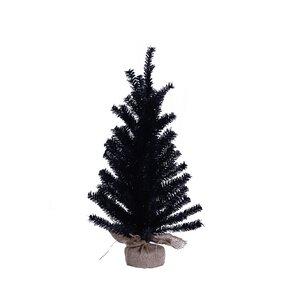 24 halloween tabletop tree - Black Christmas Trees