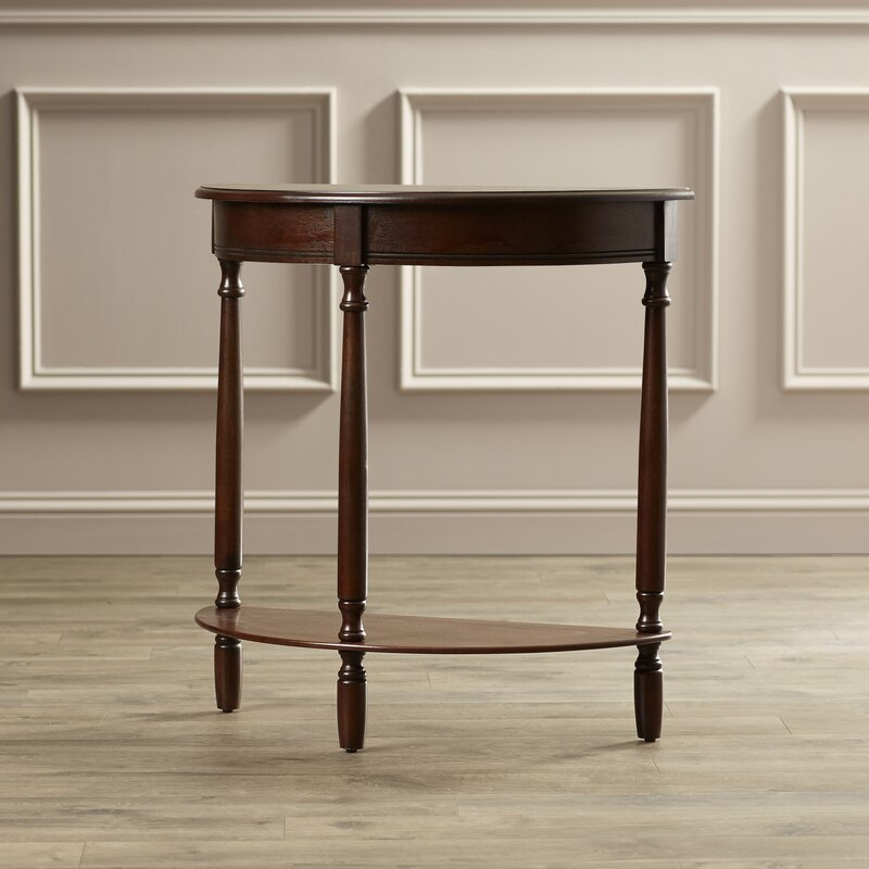 unique 40 half moon console table decorating inspiration of