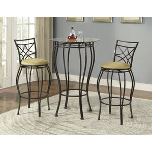 dining room table set. Northridge 3 Piece Pub Table Set Kitchen  Dining Room Sets You ll Love