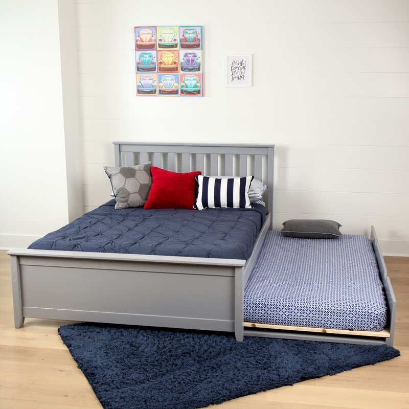 Charmant Boren Full Platform Bed With Trundle