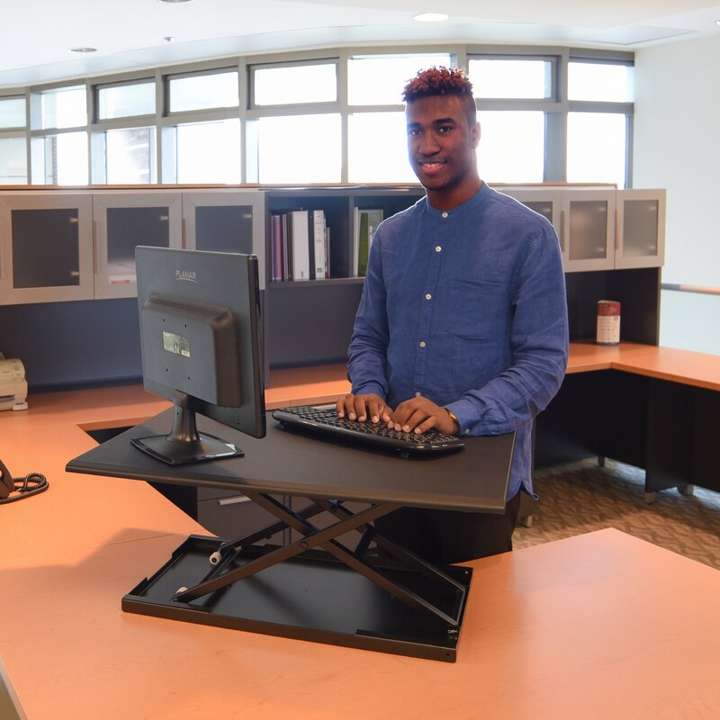 Pneumatic Adjule Desktop Standing Desk Converter