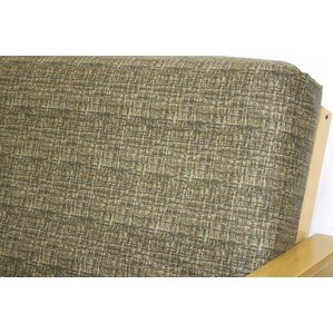 Basket Straw Box Cushion Futon Slipcover by Easy Fit