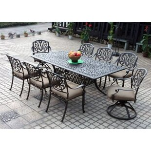 7ba63bcad39c Eight Person Patio Dining Sets You'll Love in 2019 | Wayfair