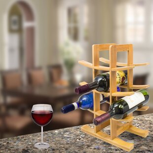 12 Bottle Tabletop Wine Bottle Rack