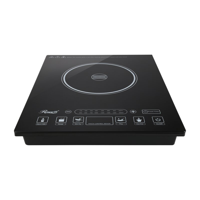 12 Induction Cooktop With 1 Burner