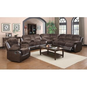 Coco Reclining Sectional by Glory Furniture