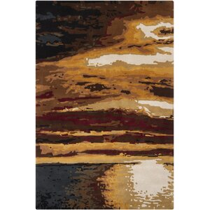 Stickles Brown Area Rug