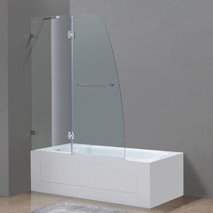 frameless tub shower door wayfair