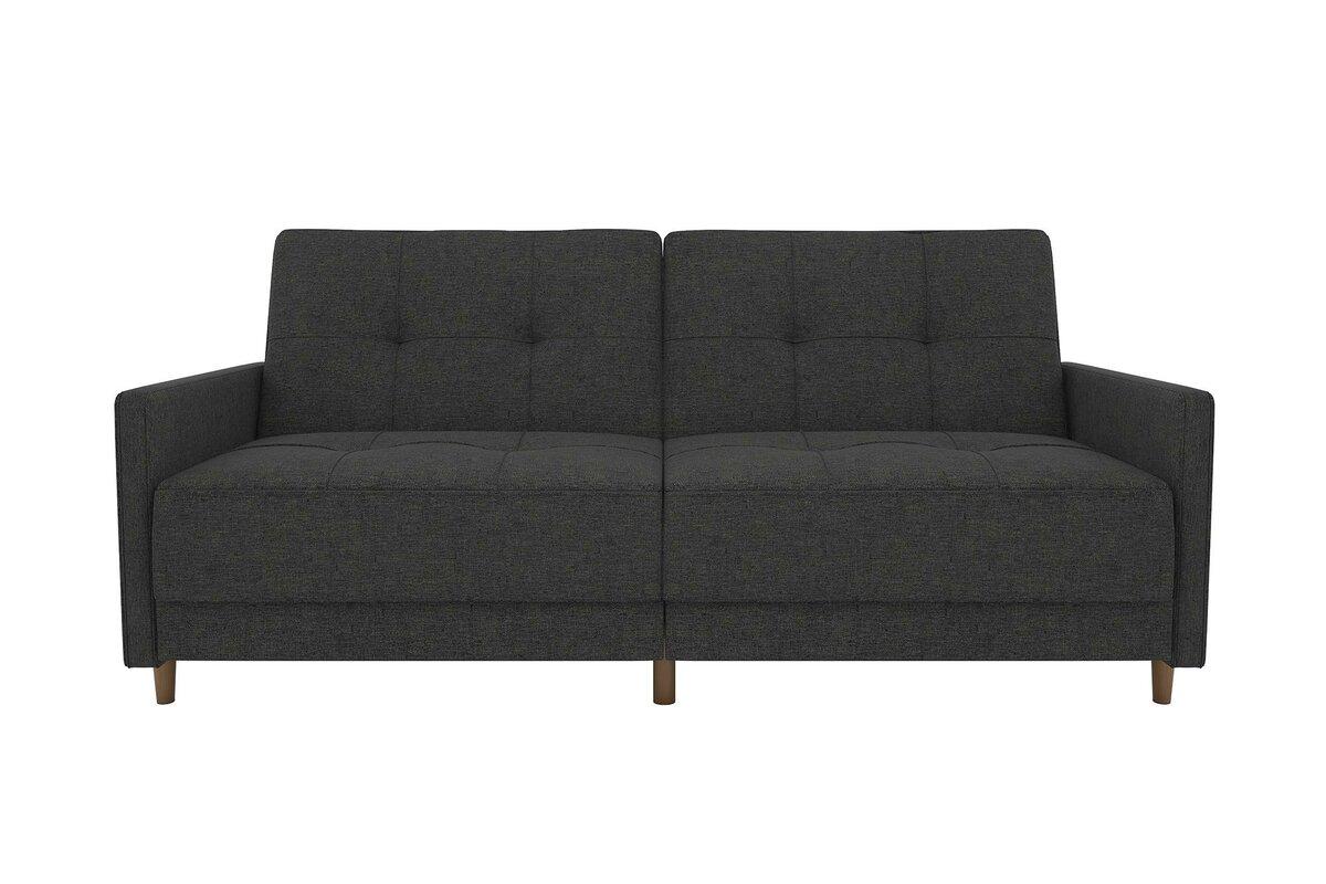 Anahi Linen Convertible Sofa