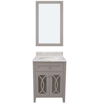 "Bathroom Vanities Kent Wa darby home co colchester 24"" single sink bathroom vanity set with"