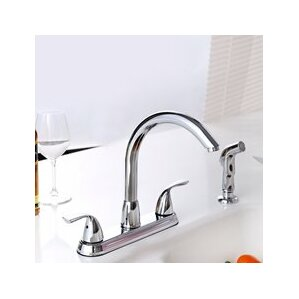 Premier Faucet Standard Kitchen Faucet with Side Spray