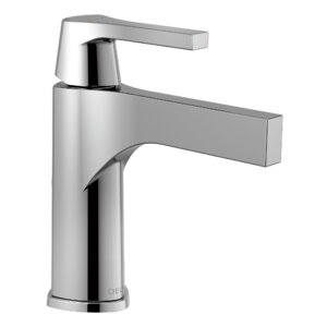 Zura Single hole Single Handle Bathroom Faucet and Diamond Seal Technology
