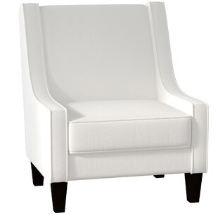 white wingback chair. Wingback Chair White I