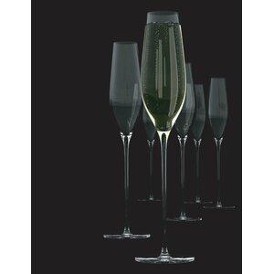 Cuvee 6 Piece Champagne Flute Set