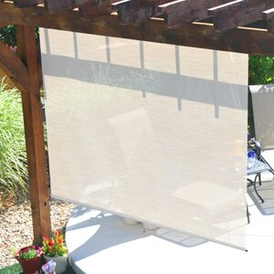 Controlled Semi-Sheer Outdoor Solar Shade