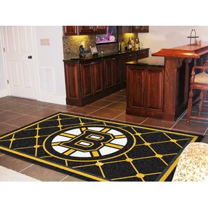 Nhl Boston Bruins 5x8 Rug