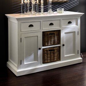 Amityville Wood Server by Beachcrest Home